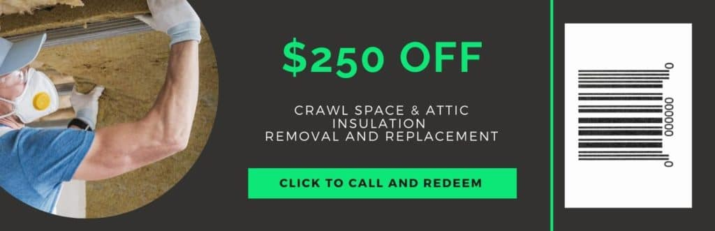 insulation removal and replacement coupon
