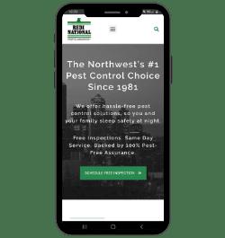 redi national pest control phone background